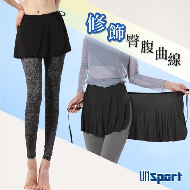 【Un-Sport高機能】高彈透氣萬用一片式運動短裙(瑜伽/健身/跳舞) 0