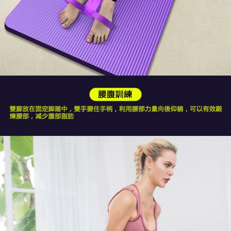 仰臥起坐腳蹬拉力健身器材 7
