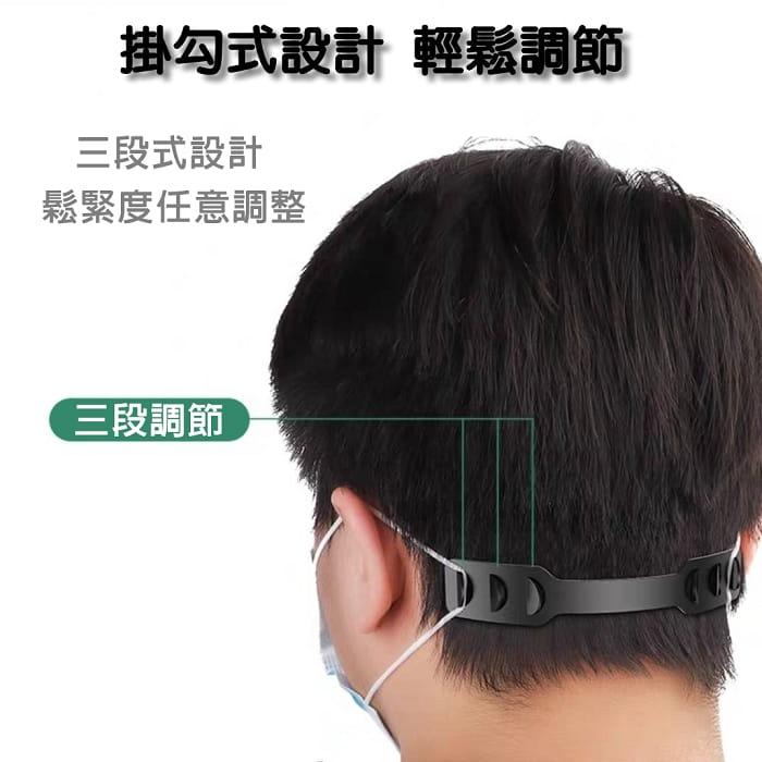 調節式口罩減壓帶 2