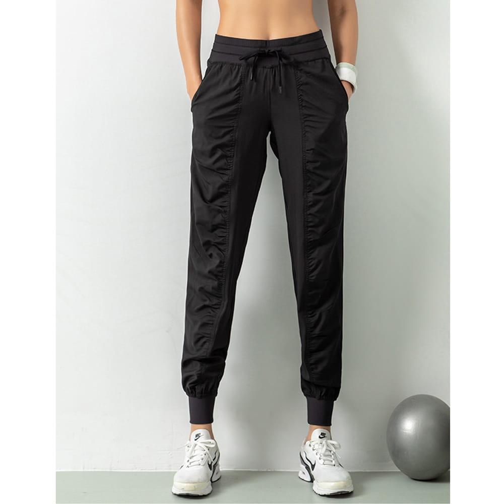 輕薄透氣寬鬆機能運動褲 16
