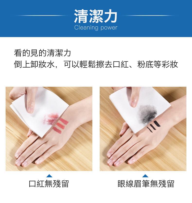 【防疫必備】SGS親膚純棉防疫口罩墊片棉柔巾 100片/包 9