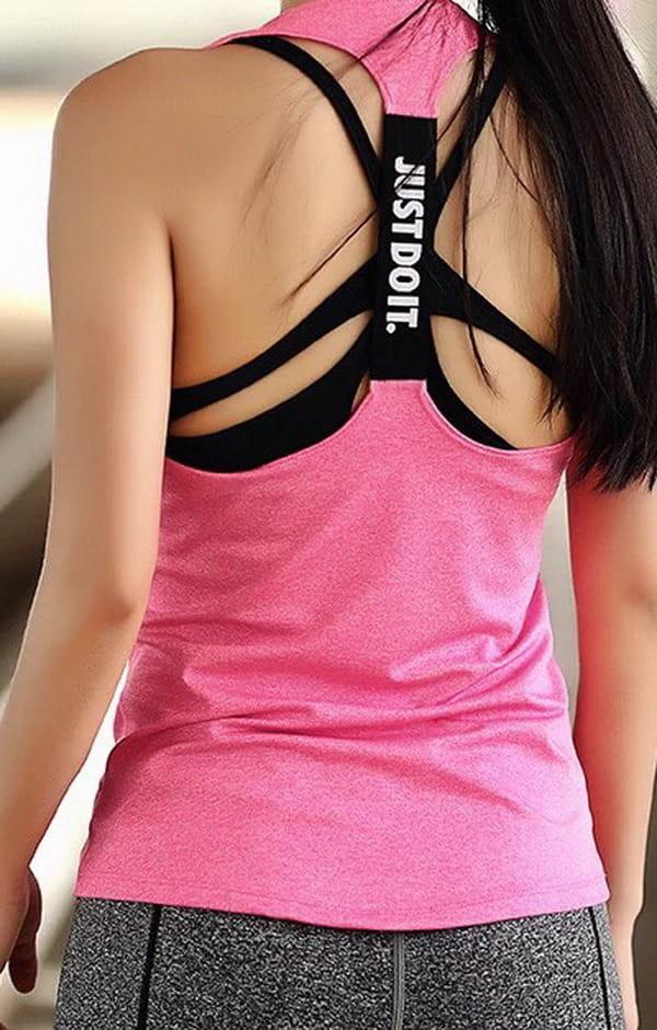 運動休閒背心上衣 運動韻律有氧跑步瑜珈LETS SEA-KOI 1