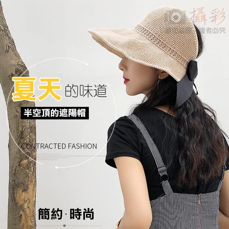 女用空頂遮陽帽 17