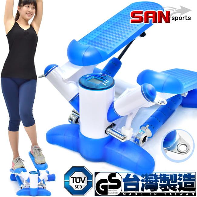 台灣製造  扭腰搖擺踏步機
