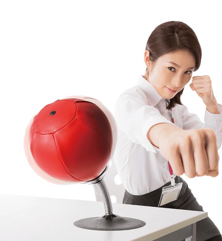 【SUNFAMILY】日本進口 解除壓力拳擊球 0