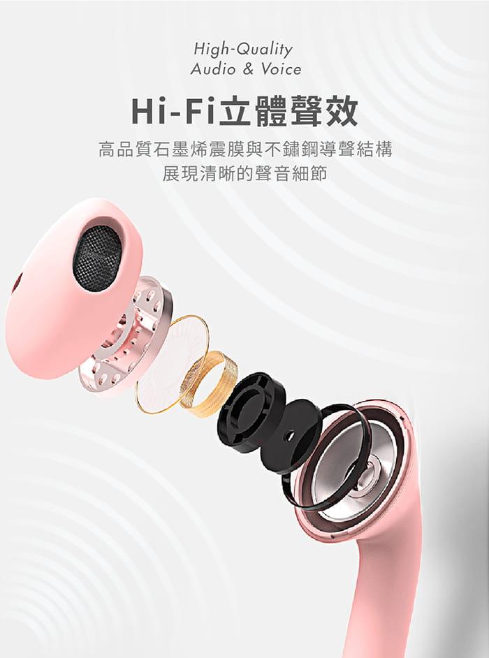 馬卡龍 藍牙5.0 真無線 觸控式藍牙耳機 6