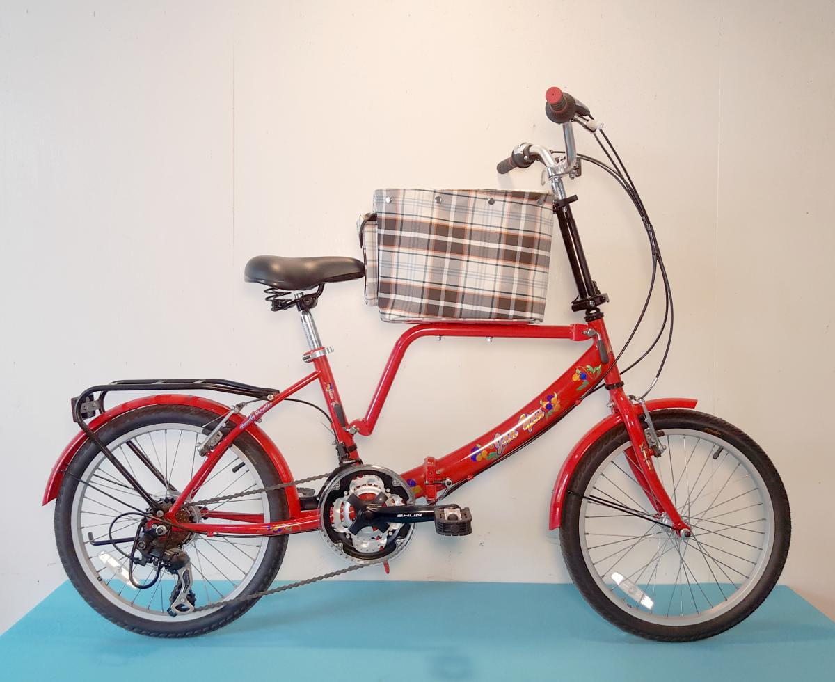 台製 20吋 21速 SHIMANO 摺疊 中籃 寵物腳踏車 3