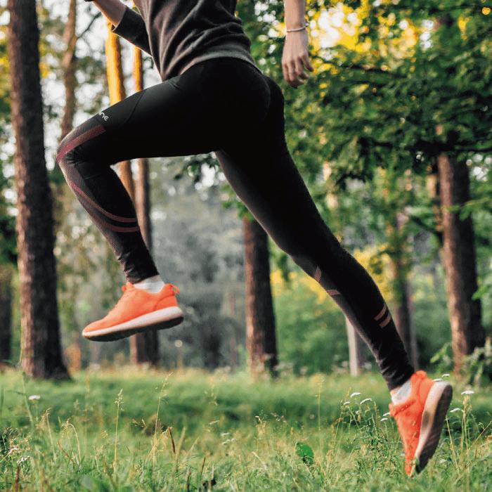 BodyVine 肌穩貼紮運動壓縮女長褲(膝蓋與小腿穩固) 0