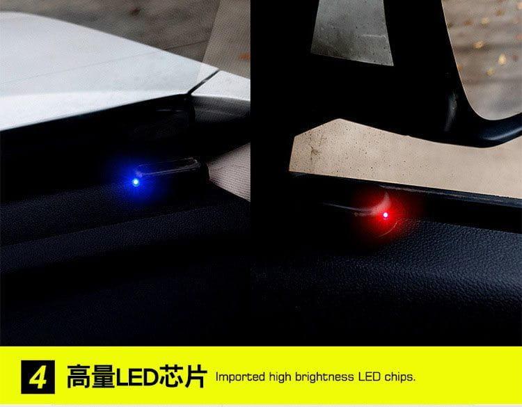超擬真太陽能防盜警示燈 9