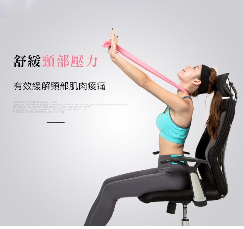 加長版超彈力瑜珈健身拉力帶 2