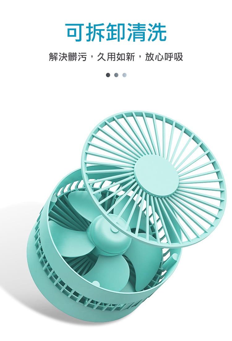 【DaoDi】USB迷你摺疊風扇 (伸縮摺疊桌上型風扇) 10