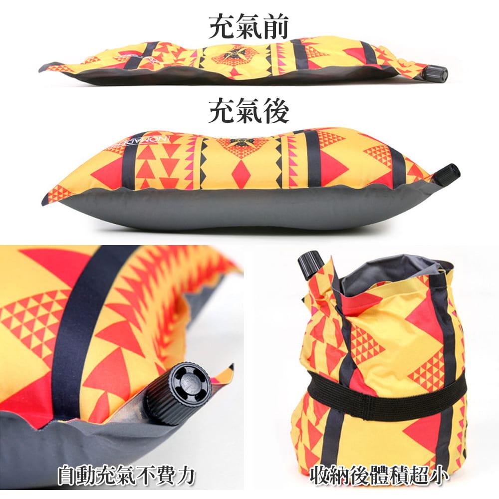 戶外露營自動充氣枕 2