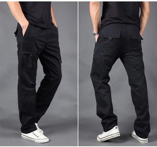 超彈力耐磨多口袋工作褲 14