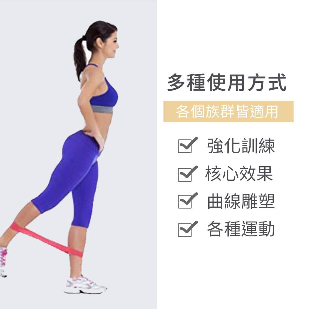 【NORDITION】迷你環狀彈力圈組◆台灣製 拉力圈 瘦腿提臀拉力環 健身房 瑜珈 訓練 阻力帶 TRX 多功能 拉筋 4