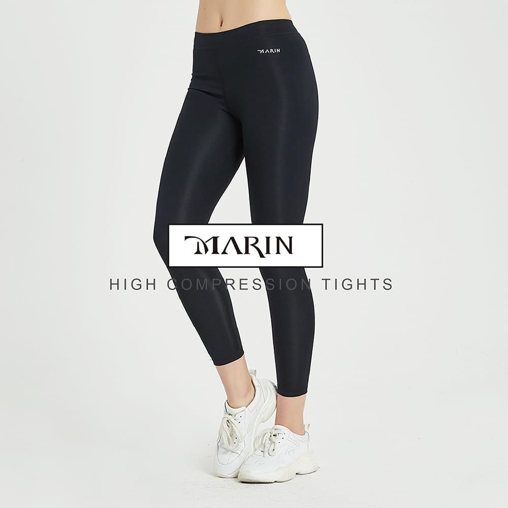 【MARIN】台灣製-重壓縮壓力褲 0