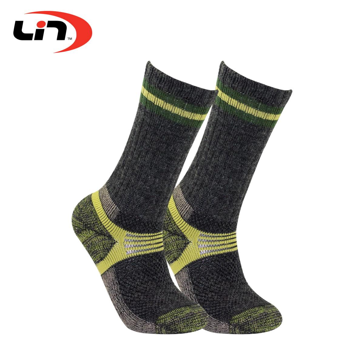 【Lin】戶外登山襪三雙組 4