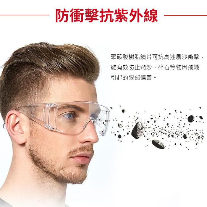 MIT 戶外護目鏡抗UV400 檢驗合格 (可套式) 2