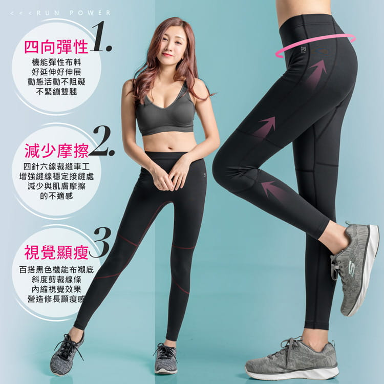 【BeautyFocus】男女智能調節微塑壓力褲 4
