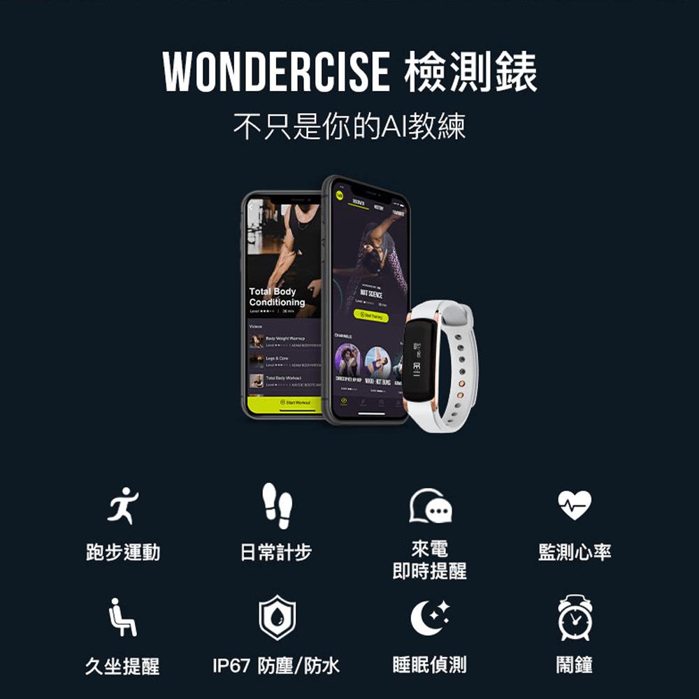 【Wonder Core】Wondercise光感應體力檢測錶+空中健身學院會員卡一年 16