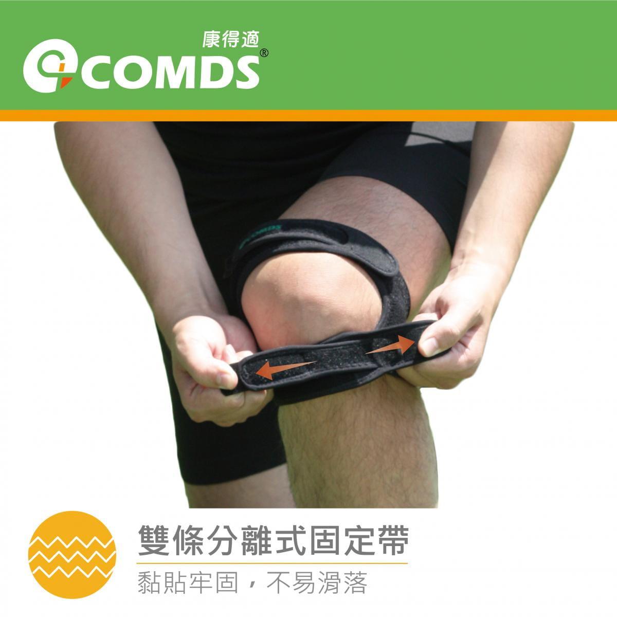 【康得適】VU-02 雙帶型護膝 MIT微笑標章認證 4