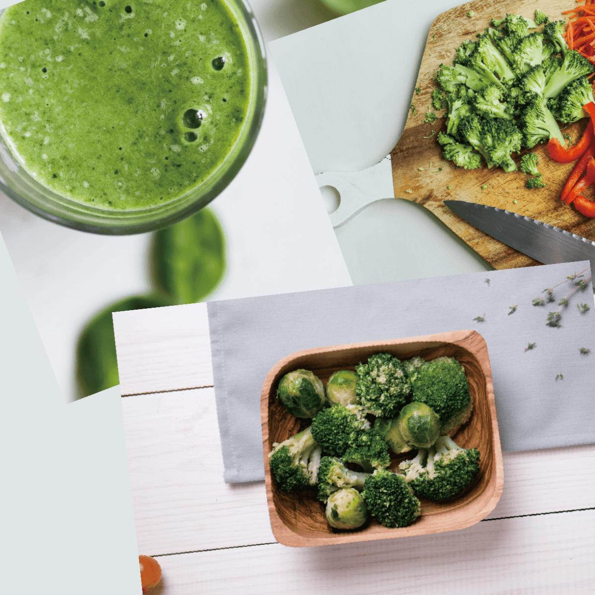 【田食原】鮮凍青花菜1KG 綠花椰菜 冷凍蔬菜 健康減醣 健身餐 養生團購美食 好吃方便 低熱量 2