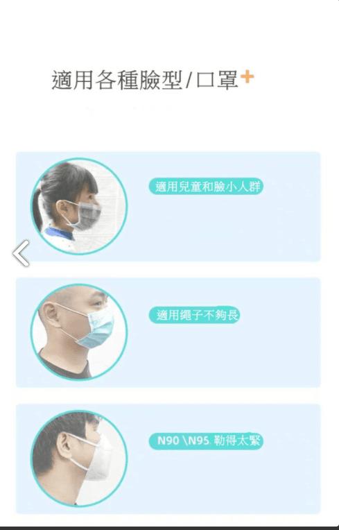 【防疫嚴選】 現貨口罩減壓帶 護耳神器 6