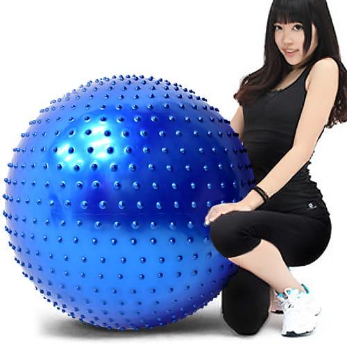 26吋按摩顆粒韻律球   65cm瑜珈球抗力球彈力球