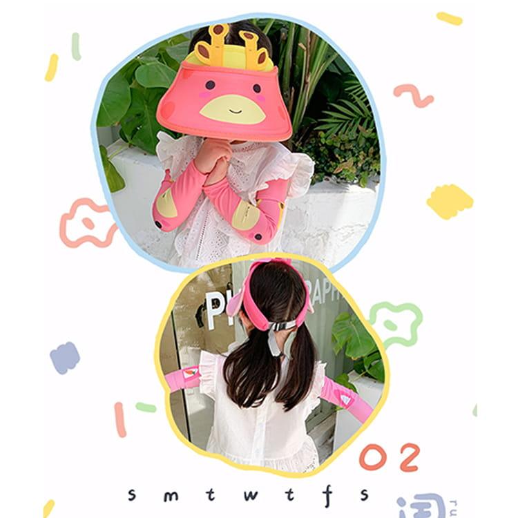 【JAR嚴選】兒童涼感防曬遮陽帽 (送袖套) 13