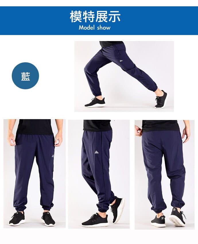 【CS衣舖】加大尺碼34-48腰 涼感吸濕排汗 口袋拉鍊 運動褲 5