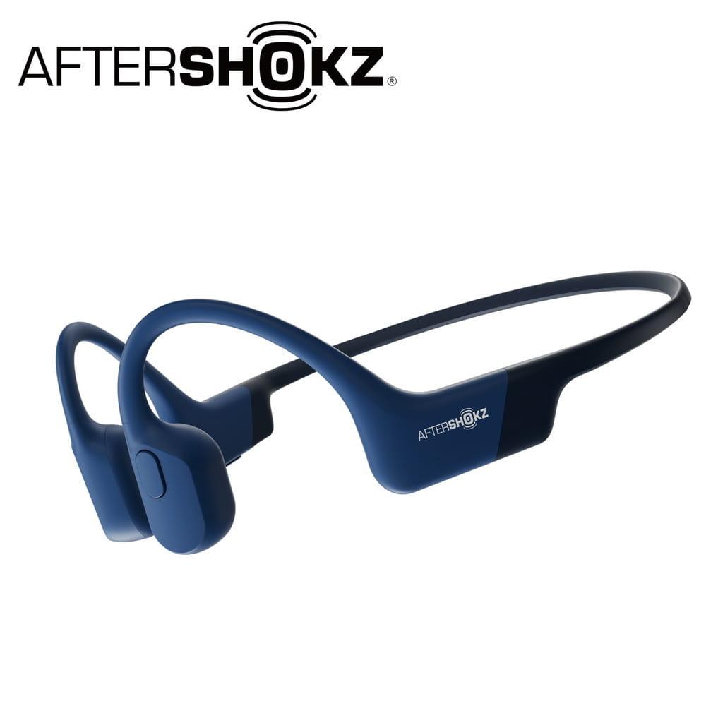 AEROPEX AS800骨傳導藍牙運動耳機-日蝕藍