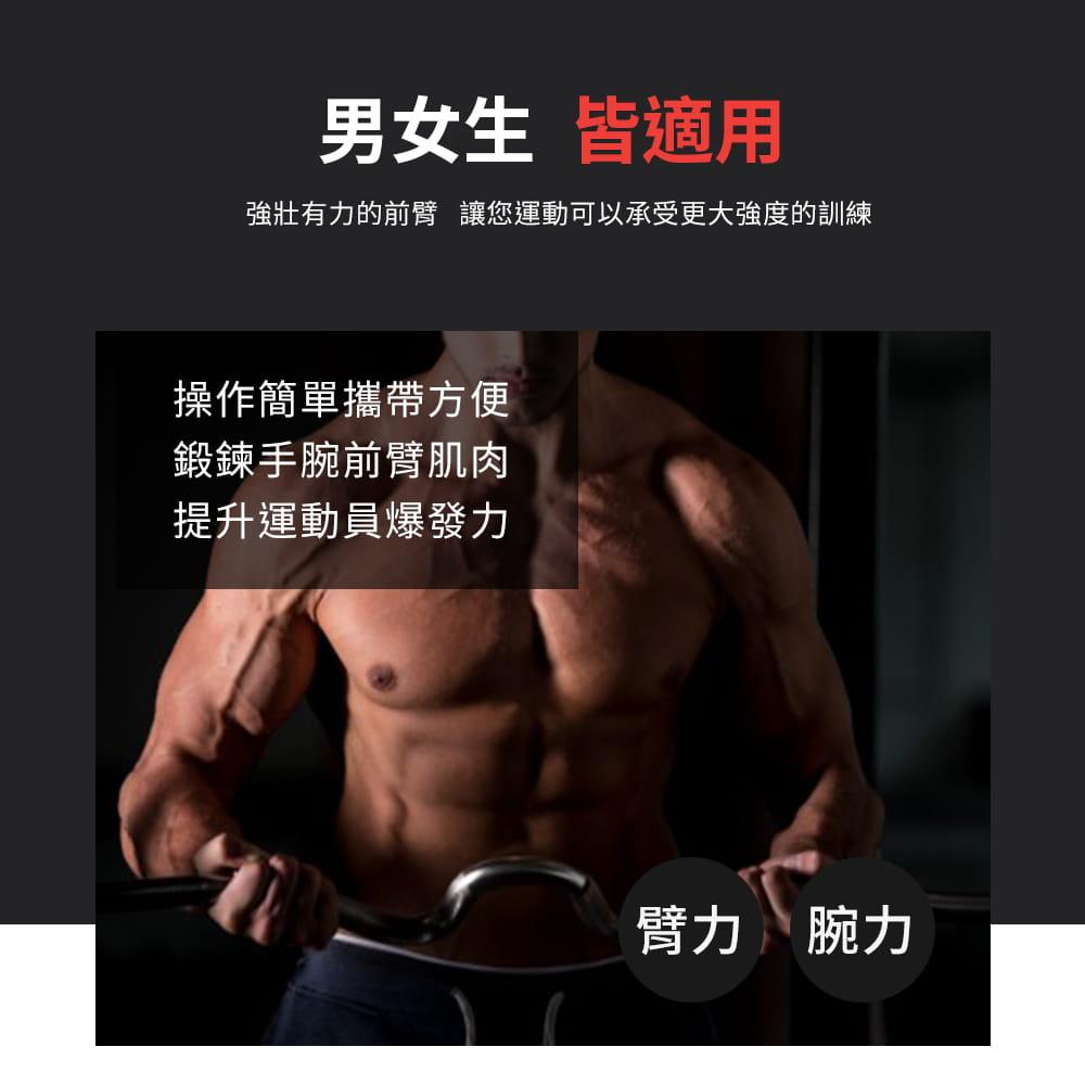 腕力器◆臂力器 握力器 健身器材 攜帶式 二頭肌 腹肌 胸肌 手臂 手部訓練 健肌器 重訓 運動 4