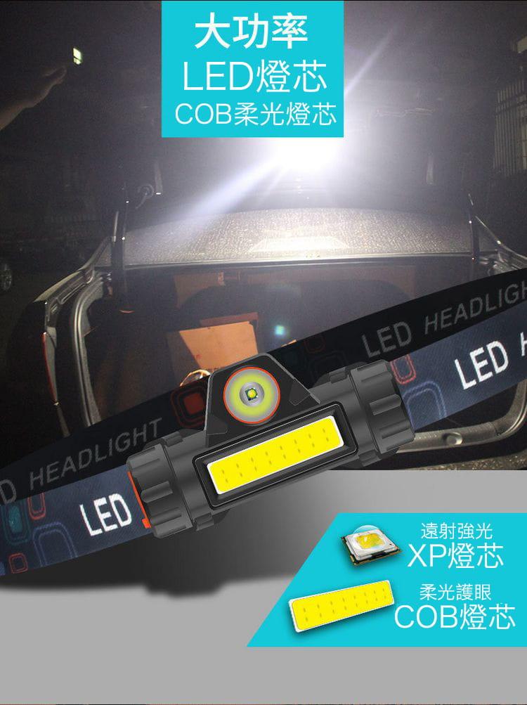 超強光爆亮磁吸兩用頭燈 8