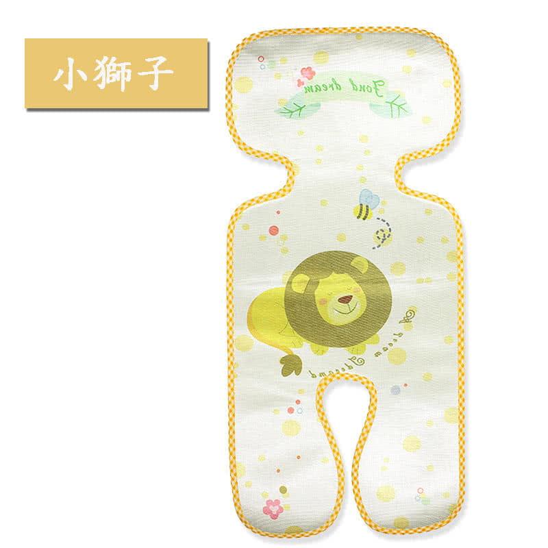 【JAR嚴選】新款印花推車涼蓆 寶寶三明治嬰兒卡通推車涼蓆 1