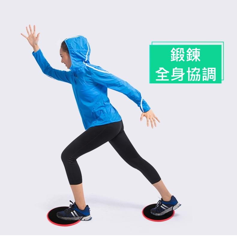 附收納袋 運動滑盤 滑板墊 居家健身 瑜珈 核心 有氧 肌耐力 11