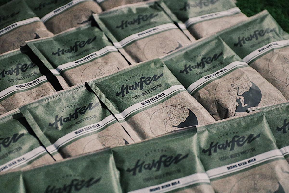 【力宴健身】原創乳清蛋白 - 綠豆沙牛奶風味 0