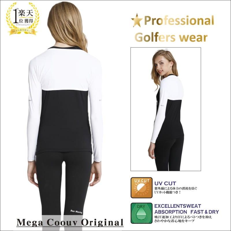【MEGA COOUV】防曬披肩冰涼袖套 高爾夫袖套 LPGA選手御用披肩袖套 6