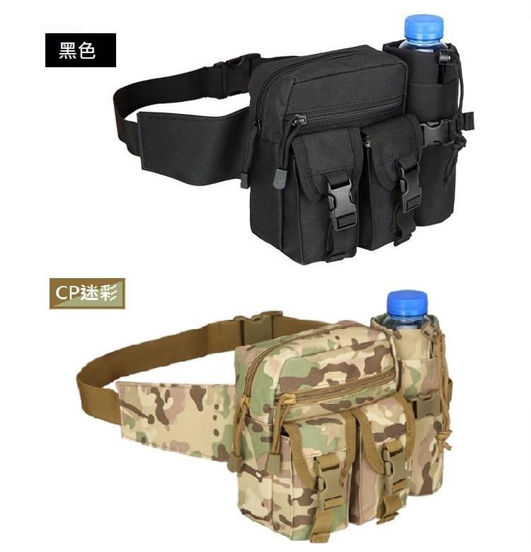 多功能休閒戶外戰術水壺腰包 手機掛包 【AE16162】 9
