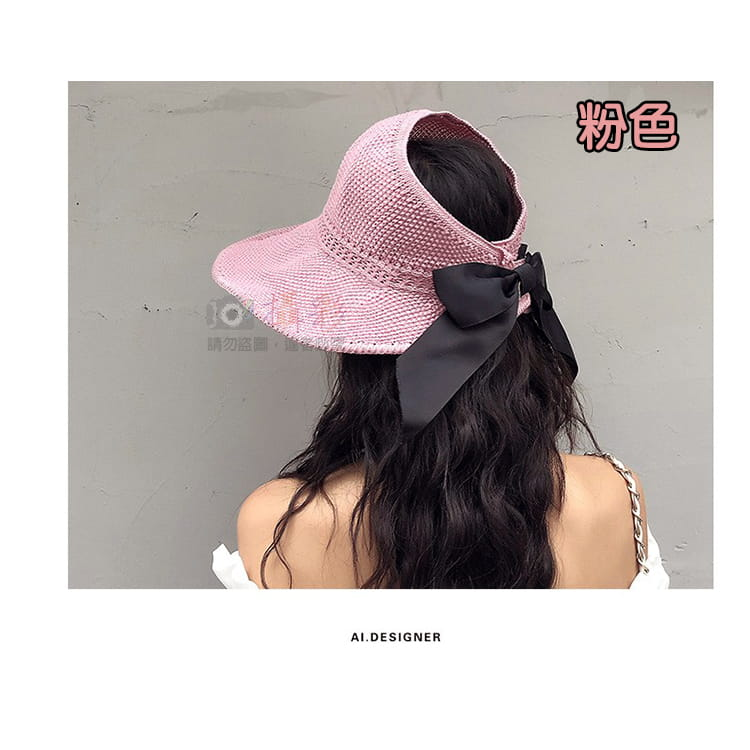 女用空頂遮陽帽 4