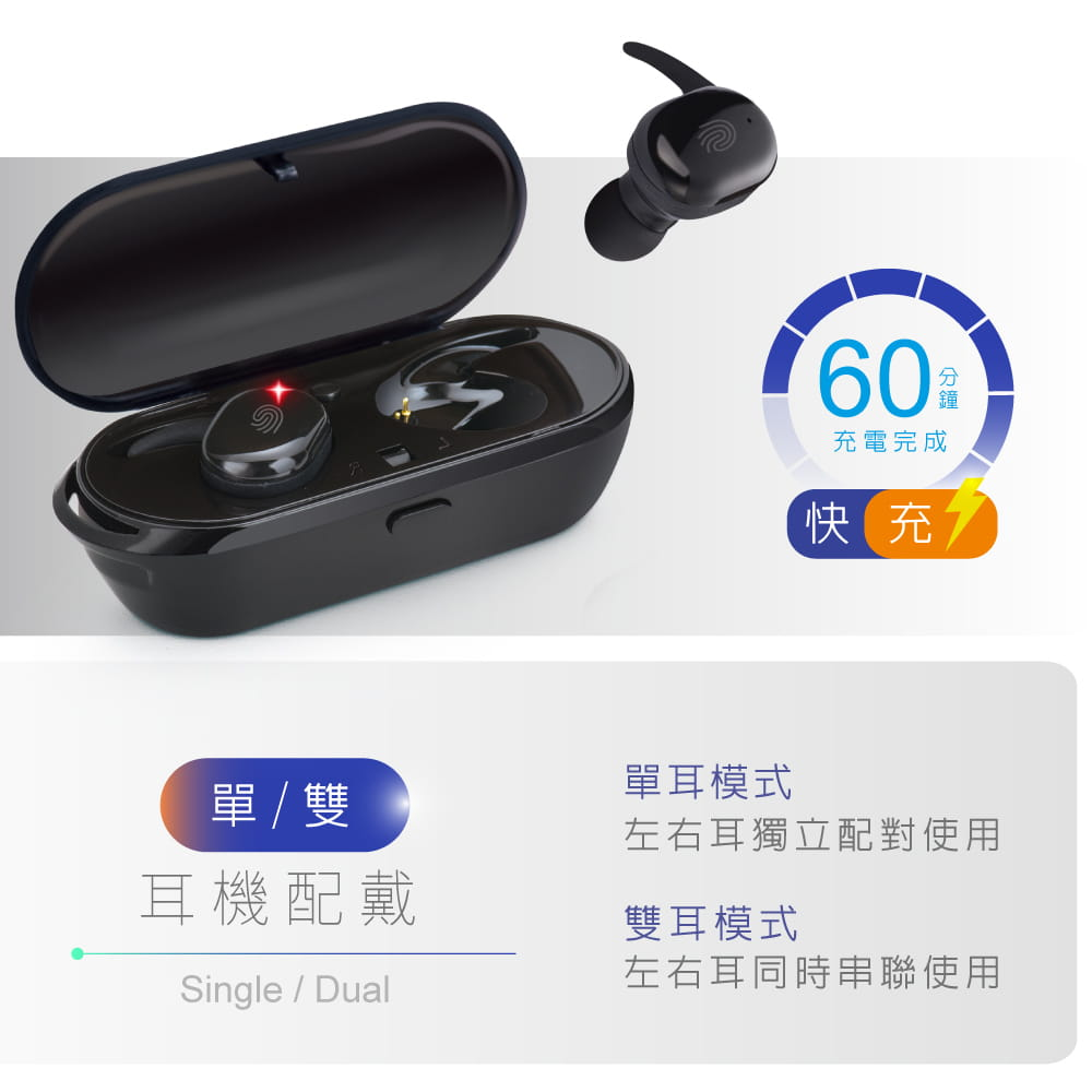 【E-books】SS8 真無線觸控藍牙5.0耳機 4