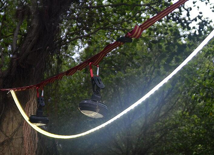 暖黃色~ 露營燈LED多功能防水帳篷天幕燈條 5