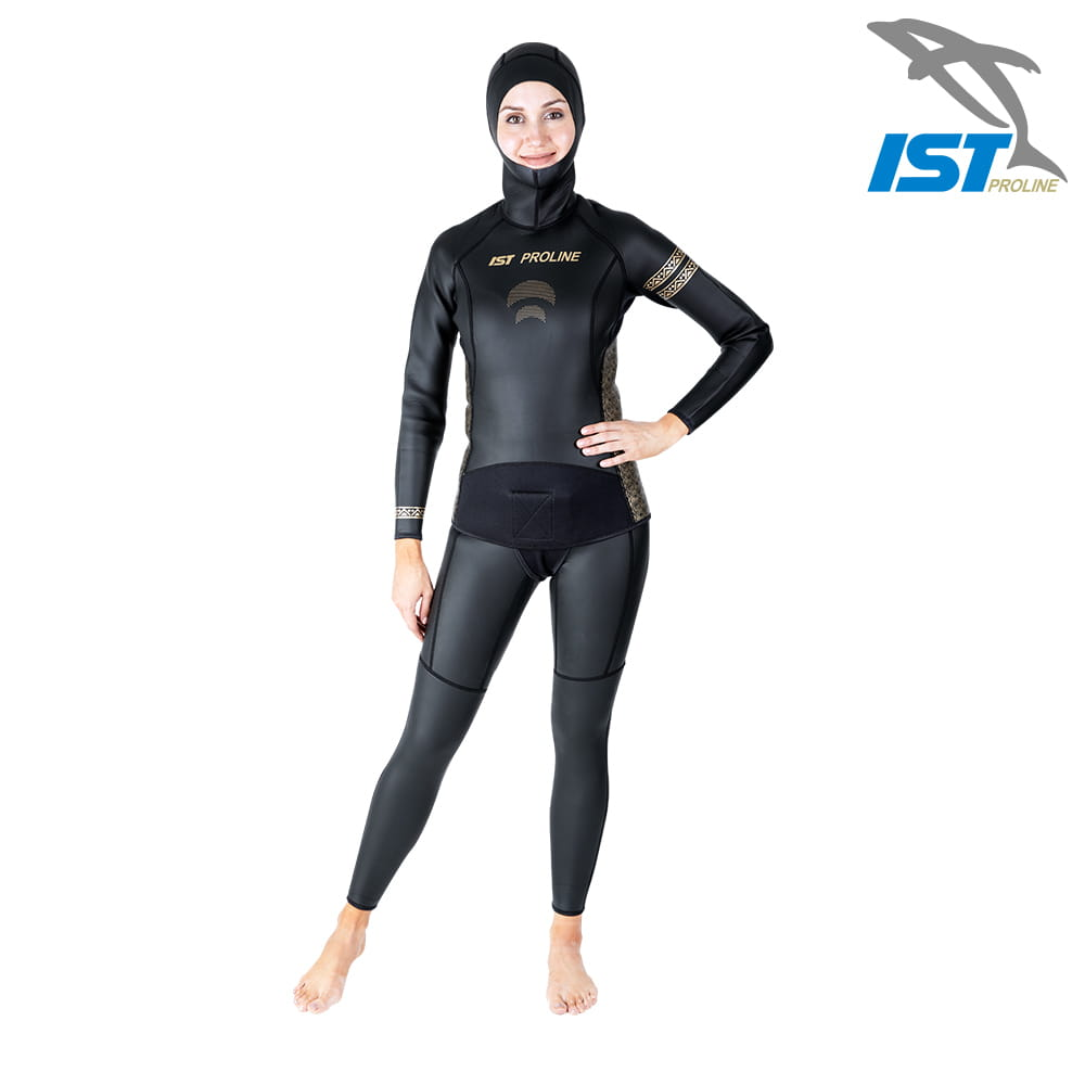 【IST】WSH-03 二件式Neoskin自由潛水防寒衣 13