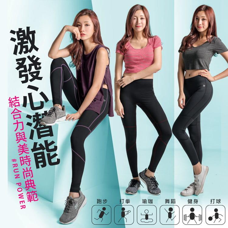 【BeautyFocus】男女智能調節微塑壓力褲 2