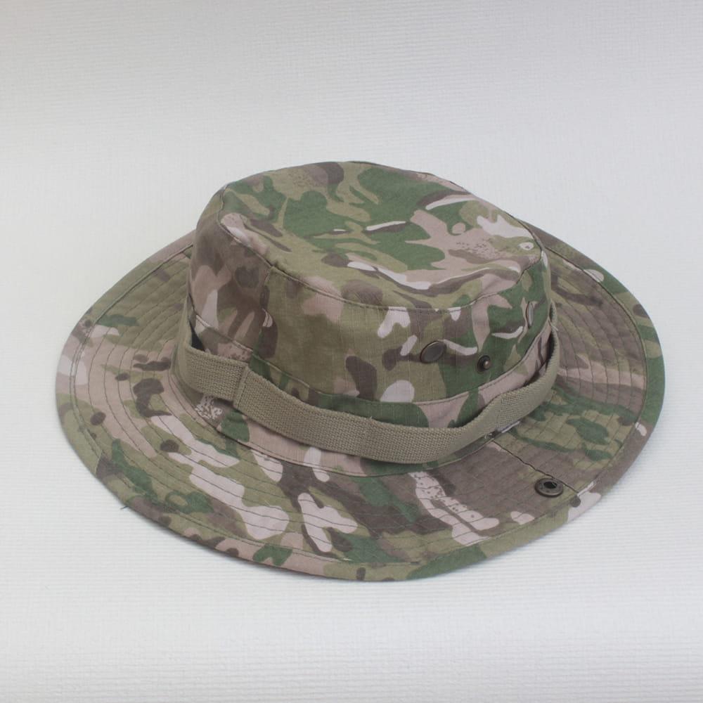 【E.City】可翻釦迷彩風戶外遮陽帽漁夫帽 8
