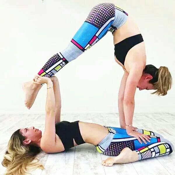 運動休閒褲運動韻律有氧跑步瑜珈LETS SEA-KOI 1