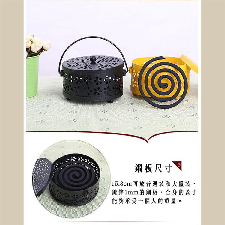 【JAR嚴選】帶蓋安全古典雅致風香薰盒蚊香盒 3