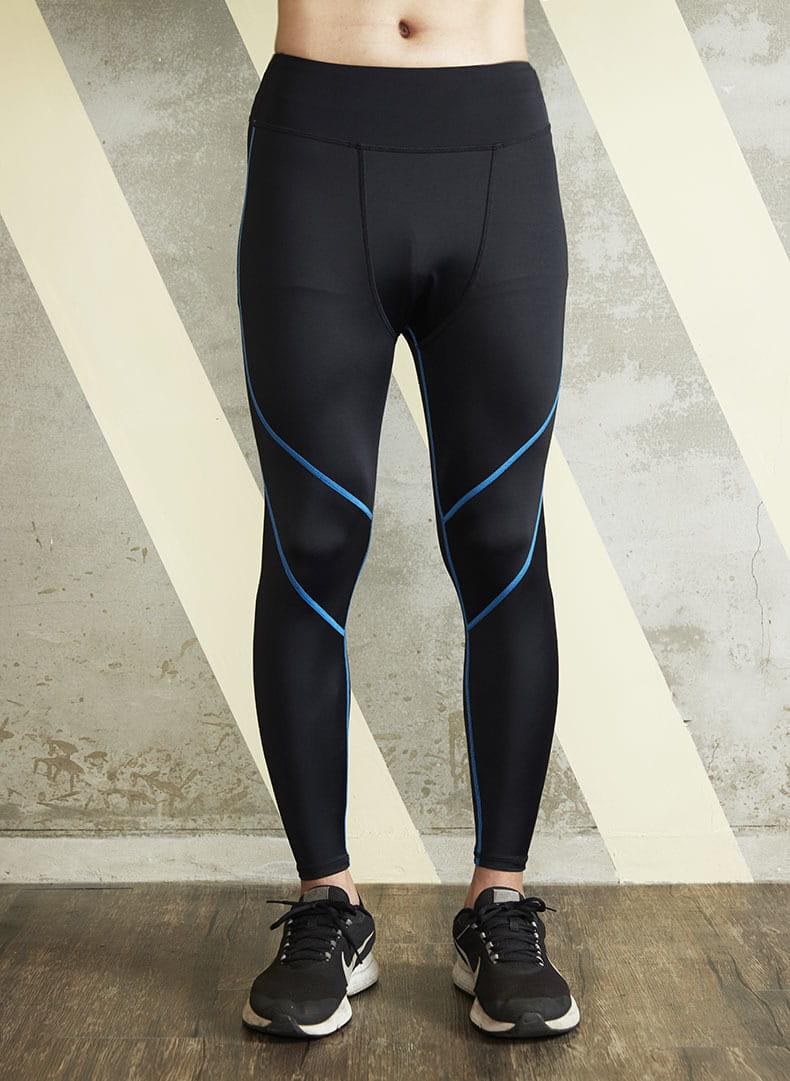【ELASTI】男款機能健身壓力褲 1