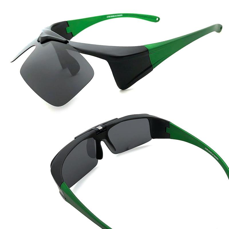 運動休閒上翻式偏光太陽眼鏡 (可套鏡) 7