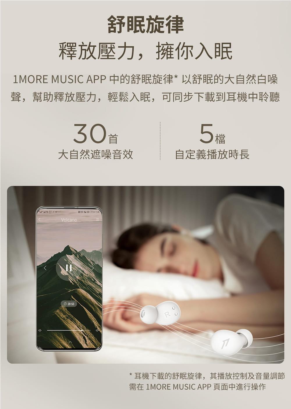 1MORE ComfoBuds Z EH601 睡眠豆真無線耳機-白色 15