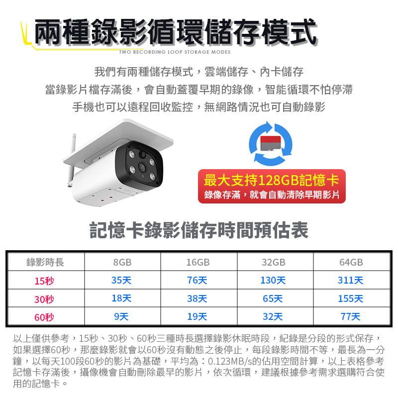 【Leisure】星光級夜視 WIFI太陽能監視器 買就送4顆原廠電池 監視器 無線監視器 戶外監視器 9