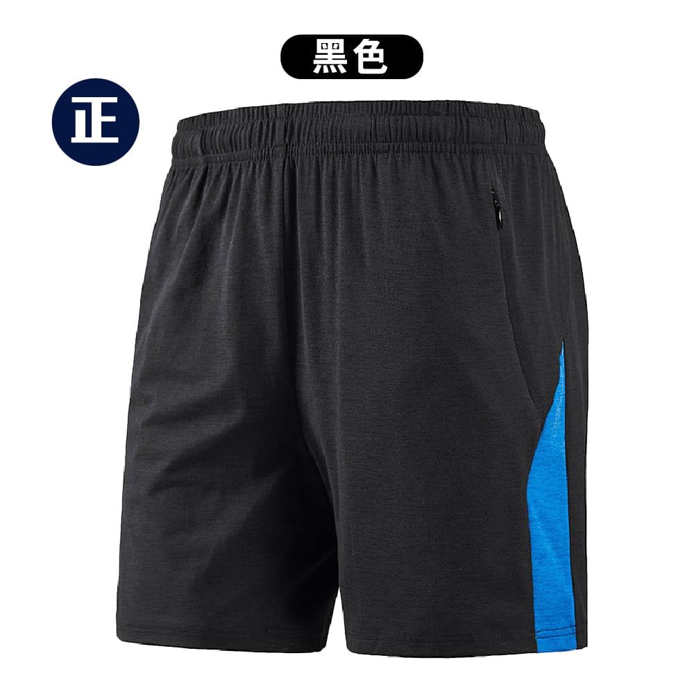 【NEW FORCE】輕量快乾鬆緊拉繩五分短褲-2色可選 7